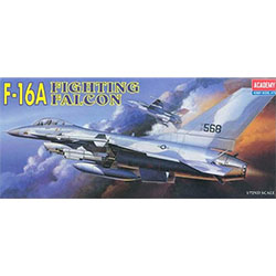 [12444] 1/72 U.S AIR FORCE F-16A (미공군 전투기 F-16A)