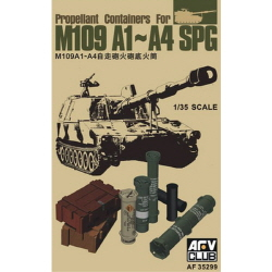 1/35 Propellant Containers for M109 A1-A4 SPG