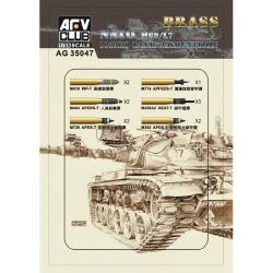 1/35 Nato M68/L7 105mm Tank Ammunition