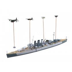 1/700 영국 해군 중순양함 도세트 샤 비스마르크 추격전