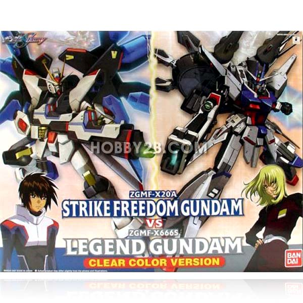 Strike freedom vs legend