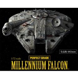 [PG] 1/72 스타워즈 밀레니엄 팔콘 (전장:약482mm) (MILLENNIUM FALCON)(LED포함) 초회한정판