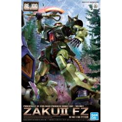 [19년7월 발매예정] [RE013] 1/100 자쿠2 개(ZAKUⅡ FZ) 건담 포켓속의 전쟁