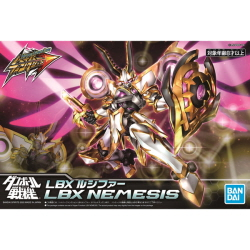 [골판지전사_하이퍼펑션004] LBX 루시퍼(Hyper Function LBX Nemesis)