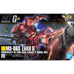 [HGUC234] 1/144 MS-06S 샤아 전용 자쿠II 리바이브(Char's ZAKU II)(전고:약121mm)