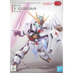[20년 11월 발매예정] [SDEX] 뉴건담(뉴 건담)(ν Gundam)(SD GUNDAM EX-STANDARD)(전고:약85mm)