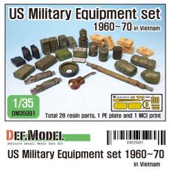 1/35 1960~70 US Military Equipment set in Vietnam