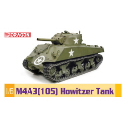 1/6 M4A3(105) Howitzer Tank HOWITZER TANK