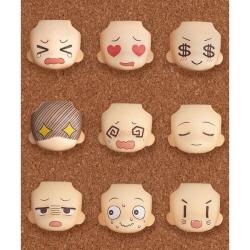 [완성품][넨드로이드모어] 교체용 얼굴 01 & 02 셀렉션 (9개세트)(NENDOROID MORE: FACE SWAP 01 & 02 SELECTION)