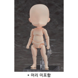 [완성품] 넨도로이드 돌 아키타입 : 보이 (크림)