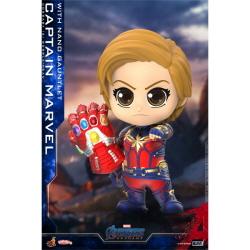 [2020년1월말경입고예정] [완성품][코스베이비] 어벤져스 캡틴 마블 With 나노건틀렛 (S) 버블헤드 COSB680(전고약85mm)