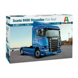 1/24 Scania R400 Streamline(Flat Roof)