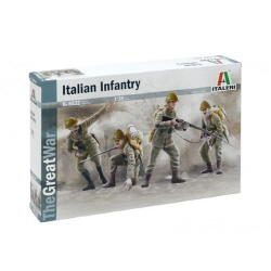 1/35 WW I : ITALIAN INFANTRY 1915
