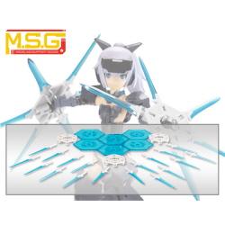 [SP006] M.S.G 모델링 서포트굿즈 헤비웨폰 유닛 23EX마 기아 블레이드 Special Edition CRYSTAL BLUE