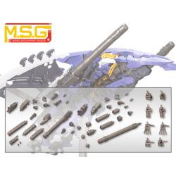 [MJ102] M.S.G 모델링 서포트굿즈 메카 서플라이 어소트 02 프로펠런트 탱크 세트 건메탈 Ver.