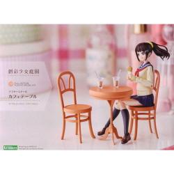 [MV001] 1/10 창채소녀정원 애프터스쿨 카페테이블 (전장:약85mm)(프라모델)