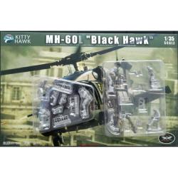1/35 MH-60L+Helli Crew & Delta Force (합본)