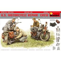 1/35 U.S.Motorcycle Repair Crew.Special Editi