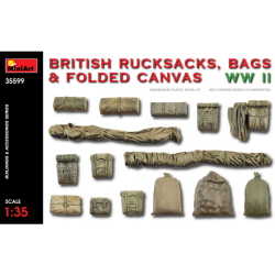 1/35 British Rucksacks,Bags & Folded Canvas