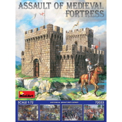 1/72 Assault of Medieval Fortress