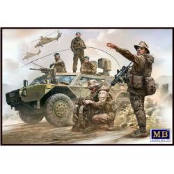 1/35 Bundeswehr. German Military Men, Present Day (5 Figures)