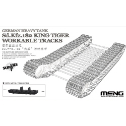 1/35 German Heavy Tank Sd.Kfz.182 King Tiger Workable Tracks(전차 미포함)