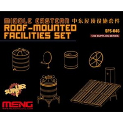 1/35 Middle Eastern Roof-Mounted Facilities Set (Resin)