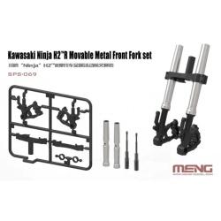 1/9 Kawasaki Ninja H2R Movable Metal Front Fork Set
