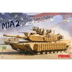 1/35 U.S.Main Battle Tank M1A2 SEP Tusk I/Tusk II w/Workable Track