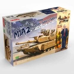 1/35 U.S.MBT M1A2 SEP Abrams Tusk 1/Tusk II Christmas Edition