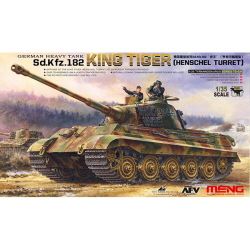 1/35 Pz.Kpfw.VI Ausf.B (Sd.Kfz.182) King Tiger Henschel Type(외부재현) w/Non workable
