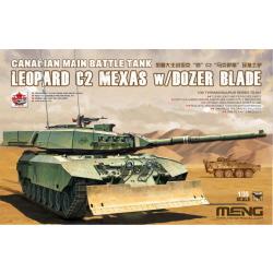 1/35 Canadian MBT Leopard C2 MEXAS w/Dozer Blade