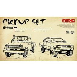 1/35 Pick up set (두 개의 트럭포함)