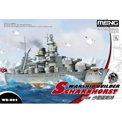 Non Scale Warship Builder German SCHARNHORST