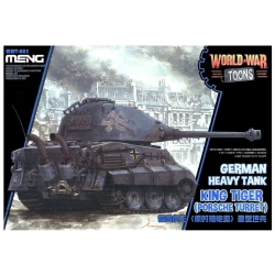 Non Scale German Heavy Tank King Tiger Porche Type