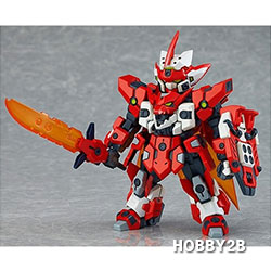[PLAMAX TK-01] 텐카이나이트 브레이븐 X (전고:약100mm)(Tenkai Knights PLAMAX TK01 Bravenwolf X)