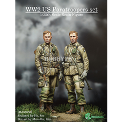 1/35 WW2 US Paratroopers set
