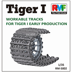 1/35 Tiger I Workable Tracks for Early Production (타이거-I 초기형 캐터필러)