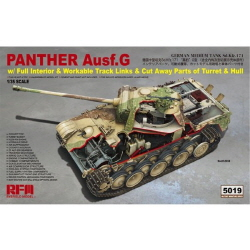1/35 German Sd.Kfz.171 Panther Ausf.G Early,Late w/Standard Full Interior/ Workable Tracks/Bonus Cutawy Parts