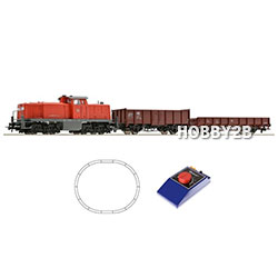 [H0] Analogue Starter Set: Diesel locomotive BR 290 + freight train, DB AG