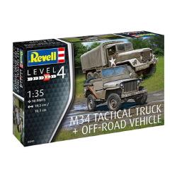 1/35 M34 Tactical Truck & Off-Roa