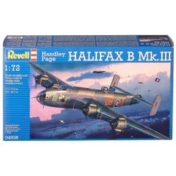 1/72 Handley Page HALIFAX B Mk.III (New Tool-2011)