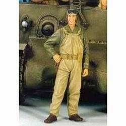 120mm U.S. TANK CREW 3 WWII
