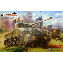 1/35 British Sherman IV Firefly Composite Hull w/Accessories