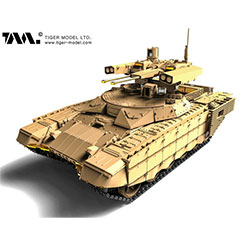 1/35 Russian BMPT-72 Terminator II w/Workable Tracks