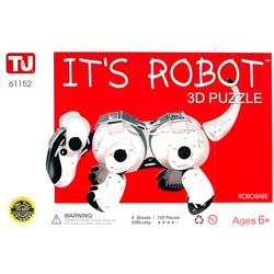 IT'S ROBOT 3D PUZZLE ROBOBABE