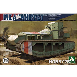 1/35 WWI Medium Tank Mk.A WHIPPET