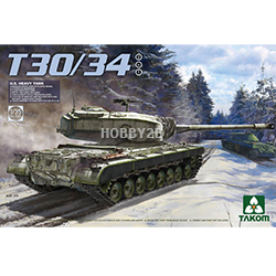 1/35 U.S. Heavy Tank T30/34 2 in 1