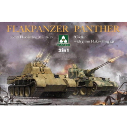 "1/35 Flakpanzer Panther""Coelian""2 in 1"