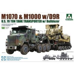 1/72 U.S.  M1070&M1000 w/D9R